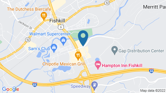 Extended Stay America - Fishkill - Route 9 Map