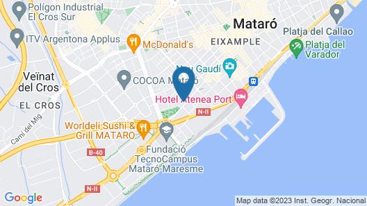 URH Ciutat de Mataró Map