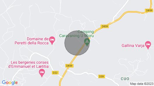 Villa With Private Pool Close to Porto-vecchio Map
