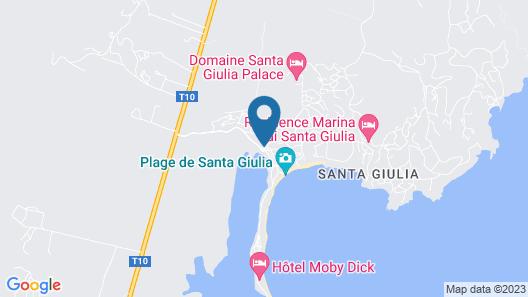 Costa Nera Beach House Map