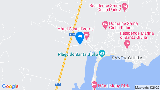 Résidence Castell'Verde Map