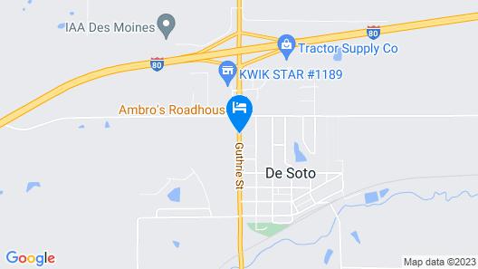 Edgetowner Motel Map