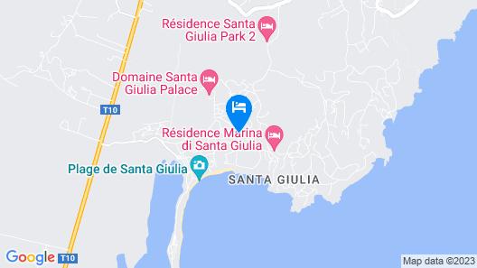 Residence Marina di Santa Giulia Map