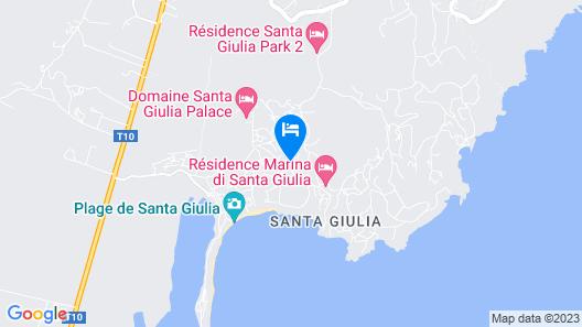 Les Hameaux de Santa Giulia Map