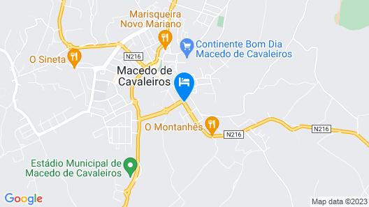 Hotel Alendouro Map
