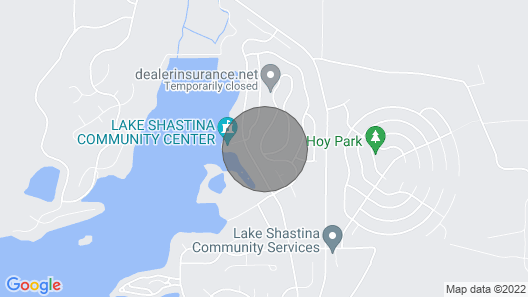 Lake Shastina - Mt. Shasta Golf/ski Rustic Retreat Map