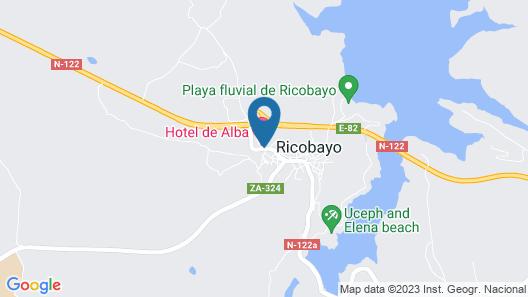 Hotel de Alba Map