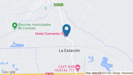 Hotel Spa Convento I Map
