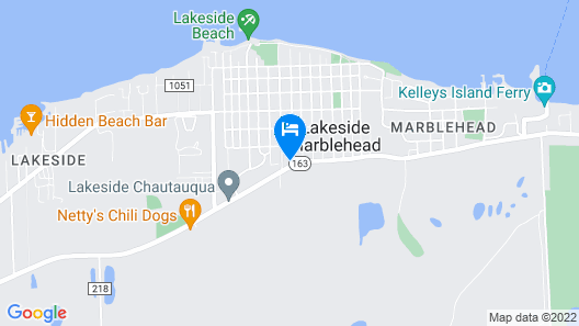 Best Value of Lakeside w \ Free Golf Cart! Map