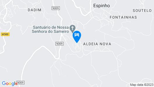 Hotel João Paulo II Map