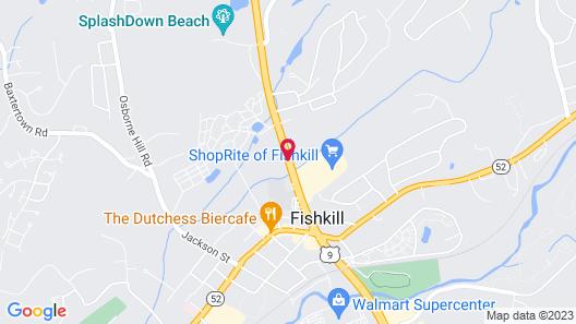 Towne Inn of Fishkill Map