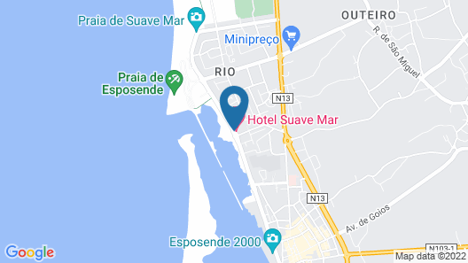 Suave Mar Hotel Map