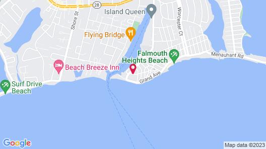 Mariner's Point Resort Map