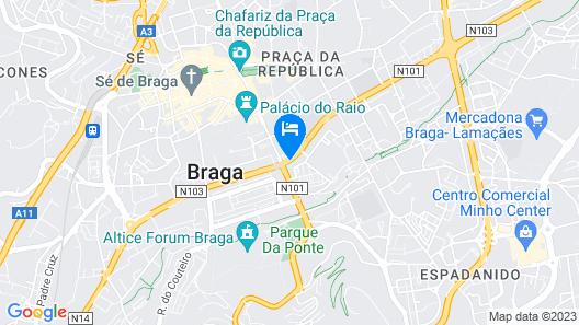 Hotel João XXI Map