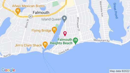 Falmouth Heights Motor Lodge Map