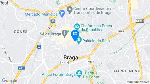 Vila Galé Collection Braga Map