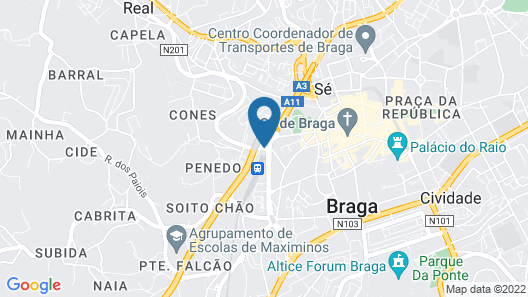 Basic Braga by Axis Map