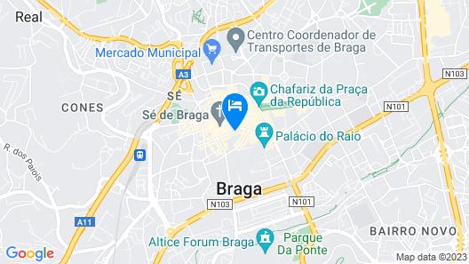 Hotel Dona Sofia Map