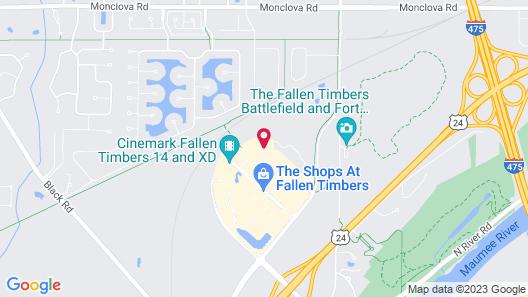 Staybridge Suites Toledo - Maumee, an IHG Hotel Map
