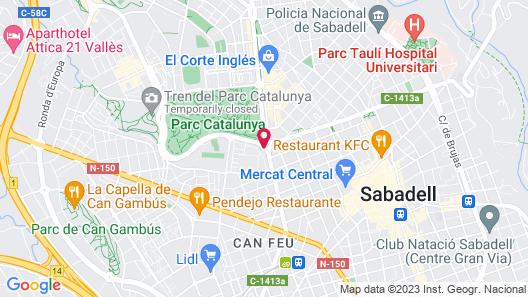 Catalonia Sabadell Map