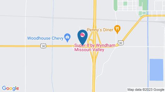 Desoto Inn & Suites Missouri Valley Map