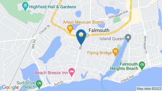ShoreWay Acres Inn & Cape Cod Lodging Map