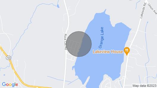 Orange Lake Modern Cottage With Fireplace Map