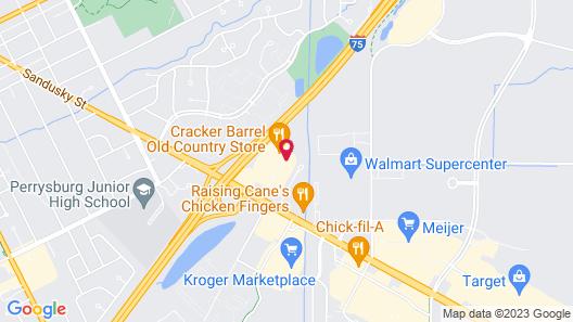 Comfort Suites Perrysburg - Toledo South Map
