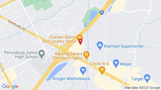 Baymont by Wyndham Perrysburg Map