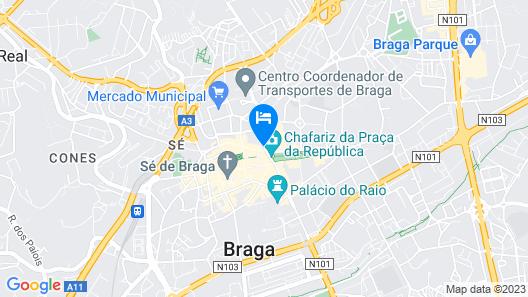 Signature Apartments Os Terceiros Map