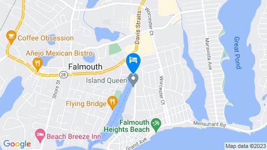 InnSeason Resorts HarborWalk Map