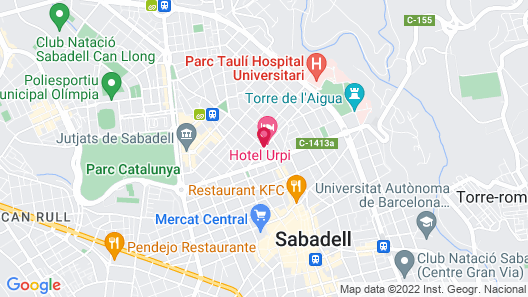 Hotel Urpi Map
