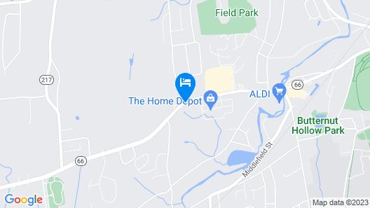 Wesley Inn & Suites Map