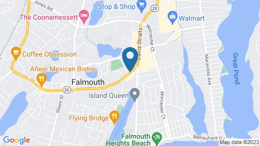 Falmouth Inn Map