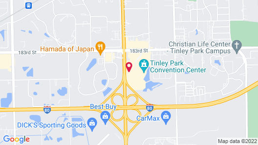 Even Hotel Tinley Park Hotel & Convention Center, an IHG Hotel Map