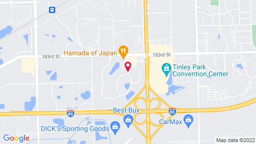 Wingate by Wyndham Tinley Park Map
