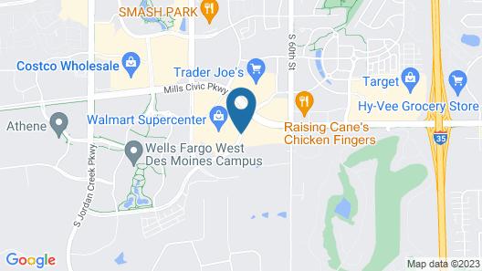 Homewood Suites by Hilton West Des Moines/SW Mall Area Map