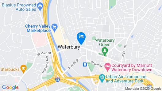 Waterbury Motel Map
