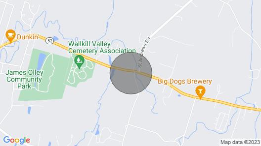 Tin Brook Bed & Breakfast Map