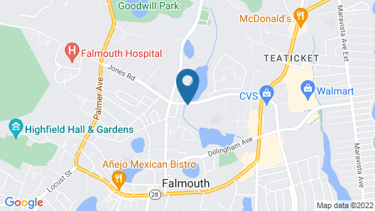 Holiday Inn Cape Cod-Falmouth, an IHG Hotel Map