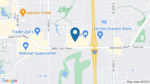 Drury Inn & Suites West Des Moines Map