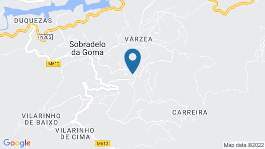 Casa do Outeiro Map