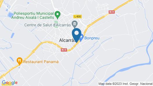 Hotel Can Peixan Map