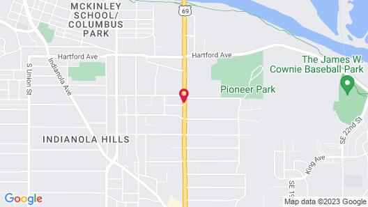 Cozy Rest Motel Map