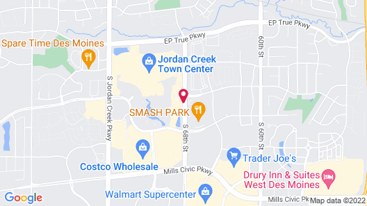 TownePlace Suites by Marriott Des Moines West/Jordan Creek Map