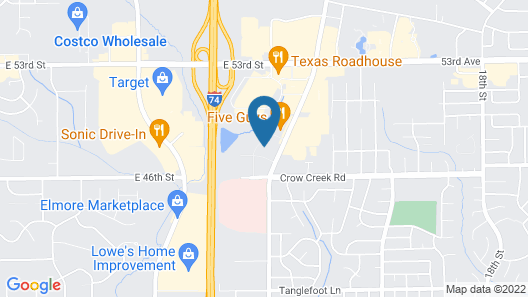 Staybridge Suites Davenport, an IHG Hotel Map