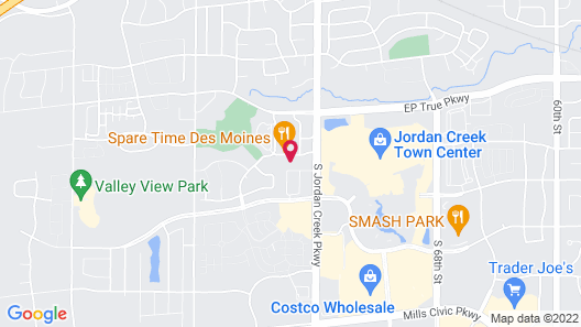 Holiday Inn Express & Suites West Des Moines - Jordan Creek, an IHG Hotel Map