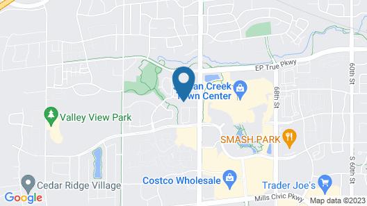 Holiday Inn Express & Suites West Des Moines - Jordan Creek, an IHG Hotel Map