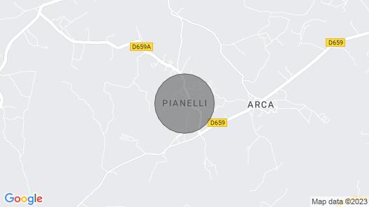 PRETTY SPACIOUS VILLA air-conditioned 160 m2 with swimming pool, 6 people, Porto Vecchio Map