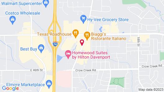 Staybridge Suites Davenport Map